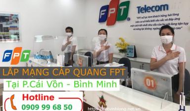 Lắp mạng Internet FPT Thị Xã Bình Minh - Vĩnh Long